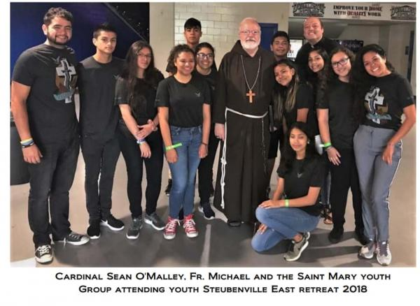 St. Mary's youth Attend youth Conference 2018